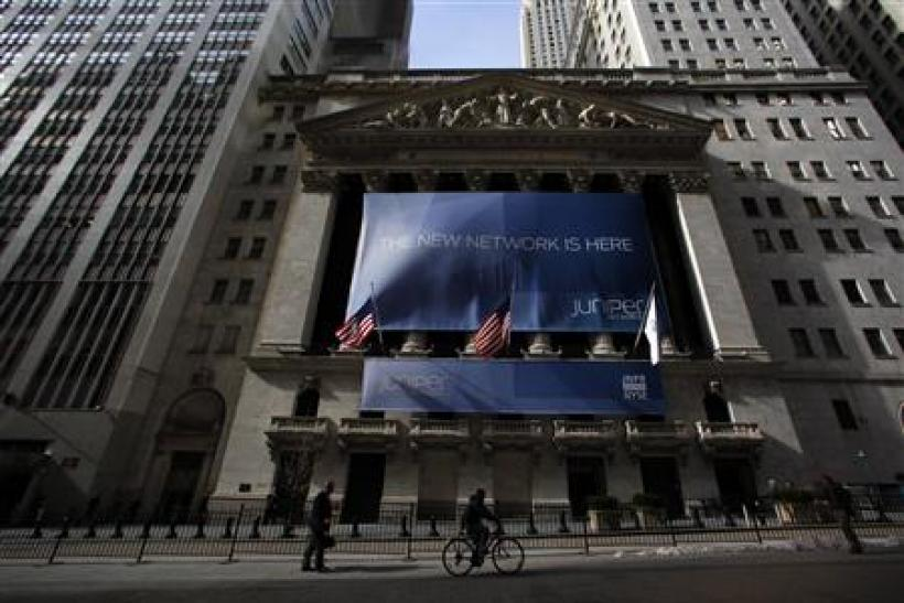 A general view of the NYSE in New York