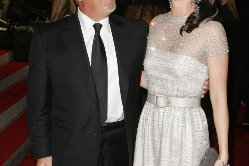 "Singer Billy Joel and wife Katie Lee Joel arrive for the Metropolitan Museum of Art Costume Institute Gala, ""The Model As Muse: Embodying Fashion"" in New York, May 4, 2009."