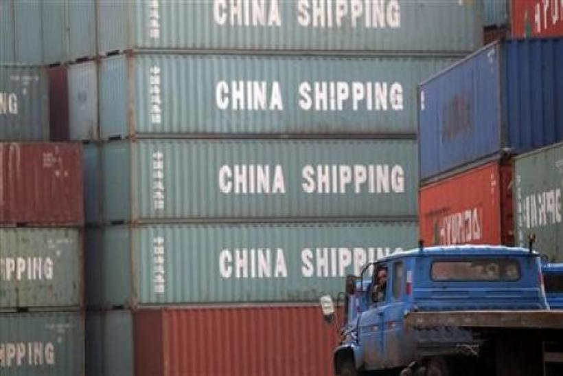 China trade surplus shrinks, supports government's G20 case