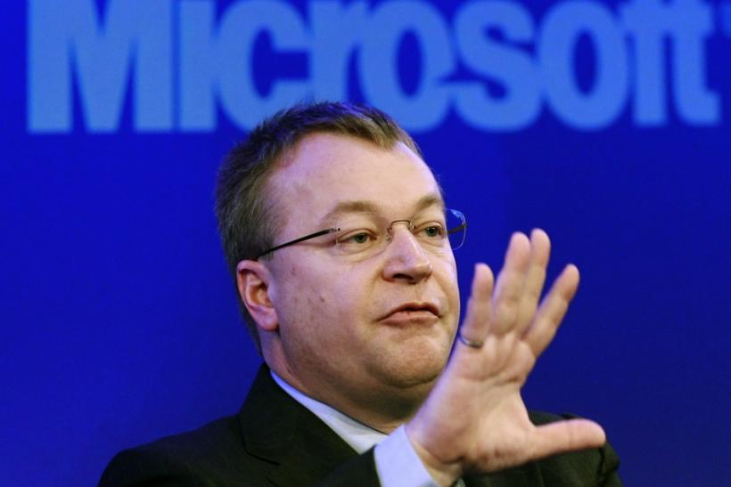 Stephen Elop At Nokia Press Conference