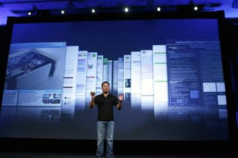 NVIDIA President and CEO Jen-Hsun Huang gives keynote address in San Jose