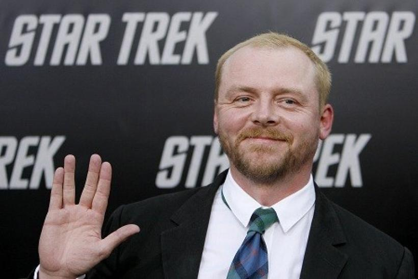 Simon Pegg Plans to Live Long and Prosper