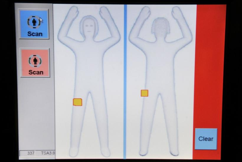 TSA new body scanner software