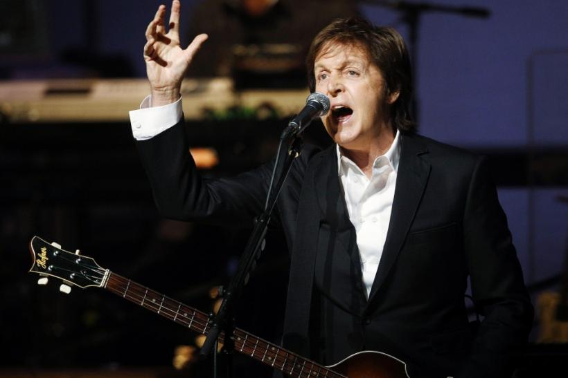 10. Paul McCartney