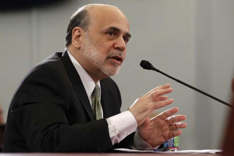 Bernanke testifies on Capitol Hill in Washington