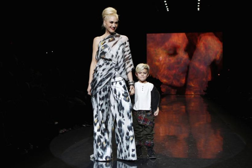 Designer Gwen Stefani's Spring 2011 collection at NY Fashion Week (PHOTOS)