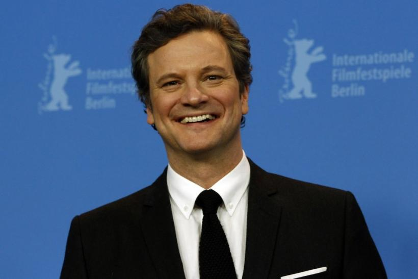 "Colin Firth for ""The King's Speech"""