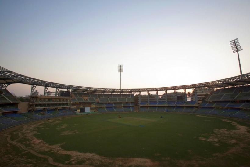 Wankhede Stadium in Mumbai, India
