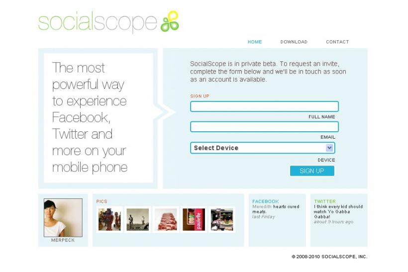 SocialScope gains mileage on the fall of UberTwitter