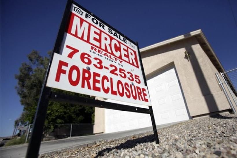 A foreclosed home is seen in Bullhead City, Arizona,