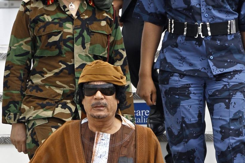 Gaddafi's virgin female bodyguards