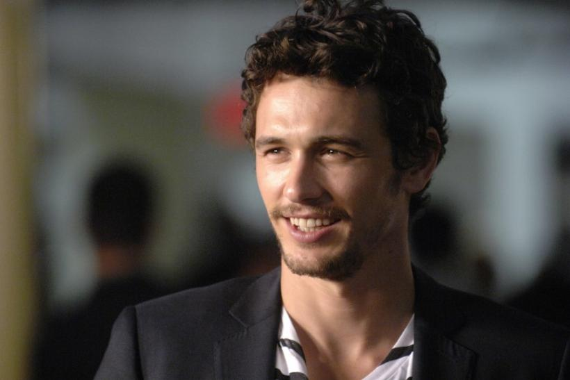 3. James Franco quits school