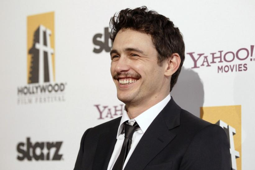 6. James Franco goes homeless