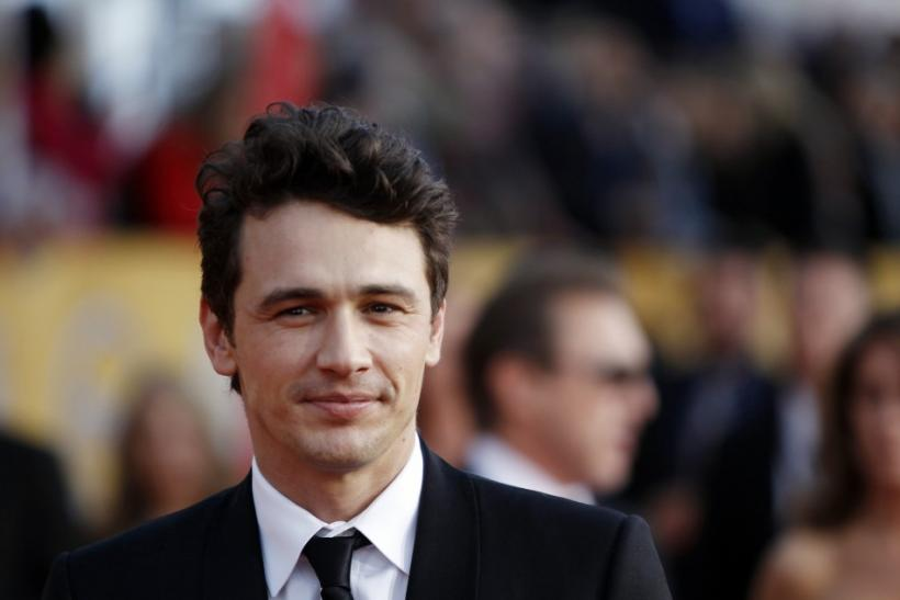 9. James Franco the sex symbol