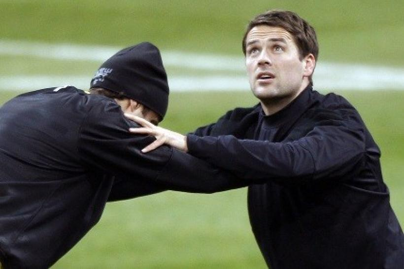 Red Devils' forward Michael Owen has been in training