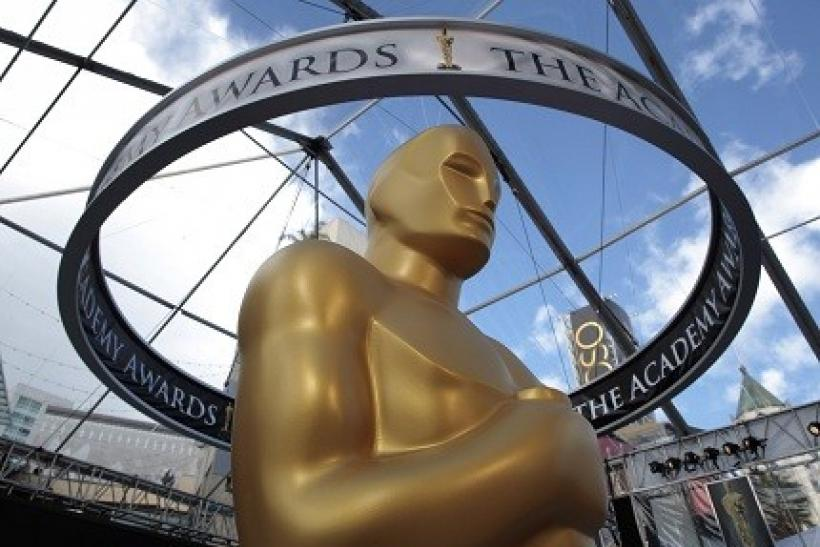 The Academy Awards begin at 8:30 EST