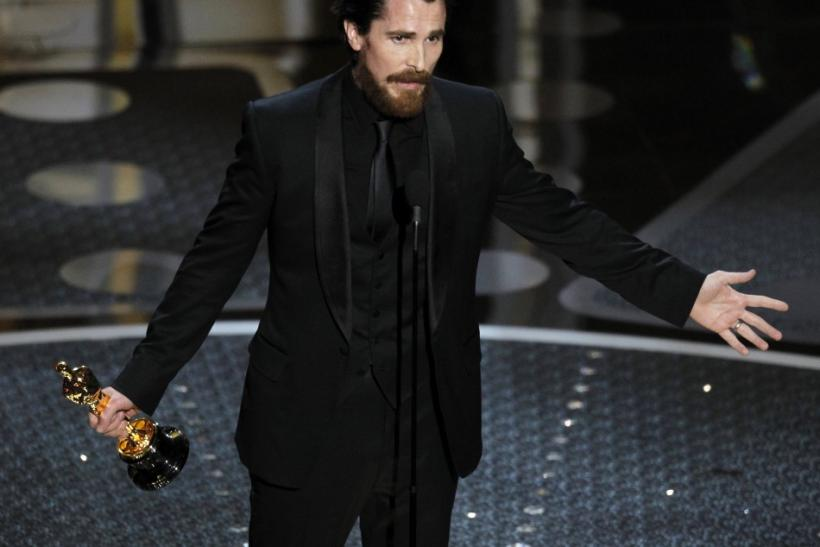 Oscar winner, Christian Bale