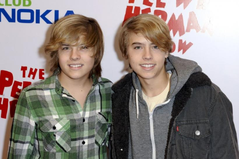 Dylan Sprouse (Left)
