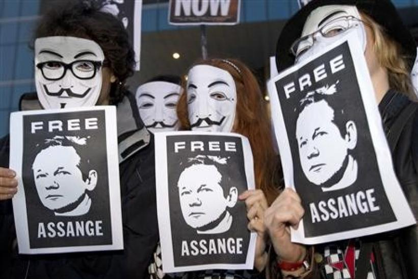 Anonymous WikiLeaks Supporters