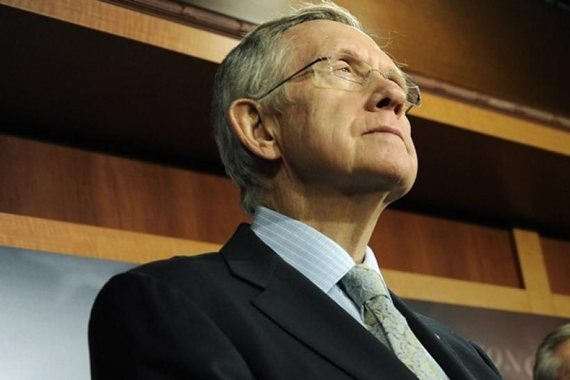 U.S. Senate Majority Leader Harry Reid (D-NV) listens during a news conference at the U.S. Capitol in Washington, December 18, 2010.