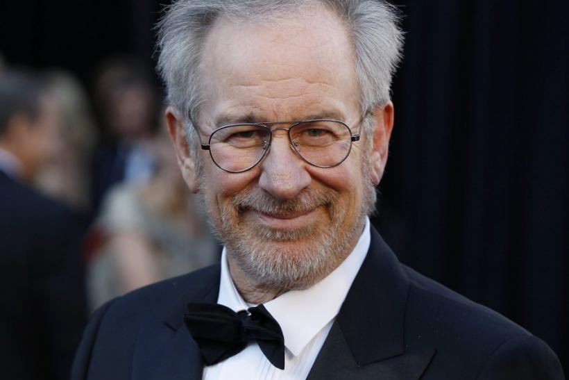Spielberg arrives at the 83rd Academy Awards in Hollywood.