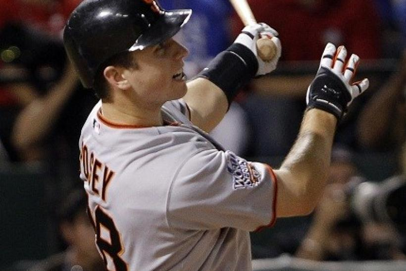 Buster Posey was the 2010 NL Rookie of the Year