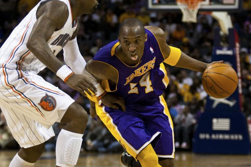 Kobe faces a Bobcats team that had the Lakers' number