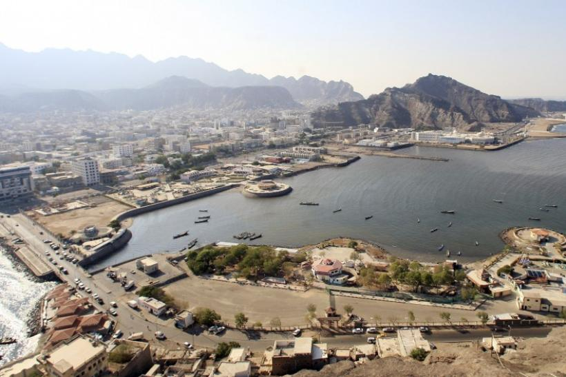 Aden's City in southern Yemen