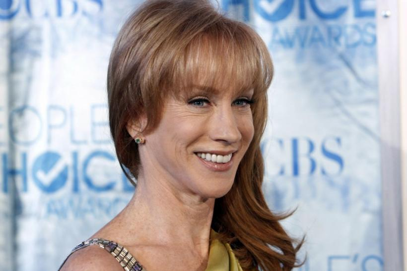 Comedienne Kathy Griffin arrives at the 2011 People's Choice Awards in Los Angeles