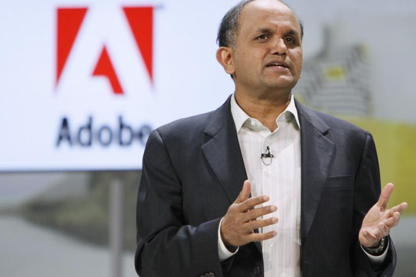 Adobe CEO Narayen speaks at the Samsung keynote address