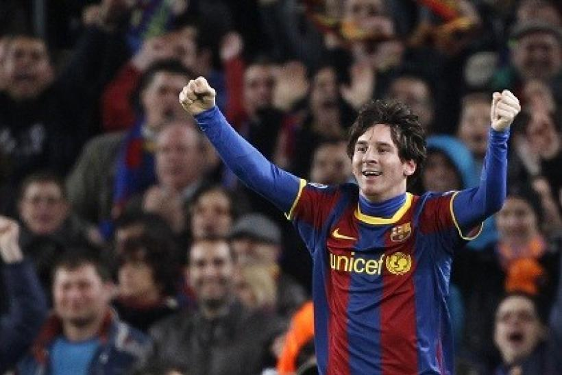 Barcelona advanced thanks to Lionel Messi's two goals
