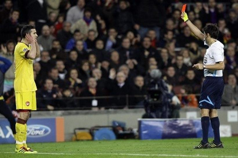 52bab2e54 Robin van Persie is Partially to Blame for Arsenal s Champions League Loss