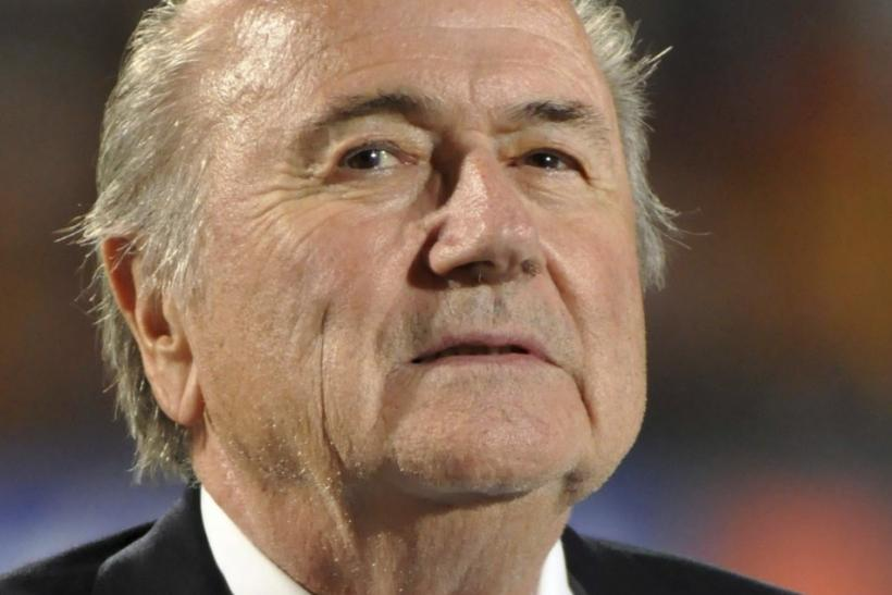 Blatter has some thinking to do.