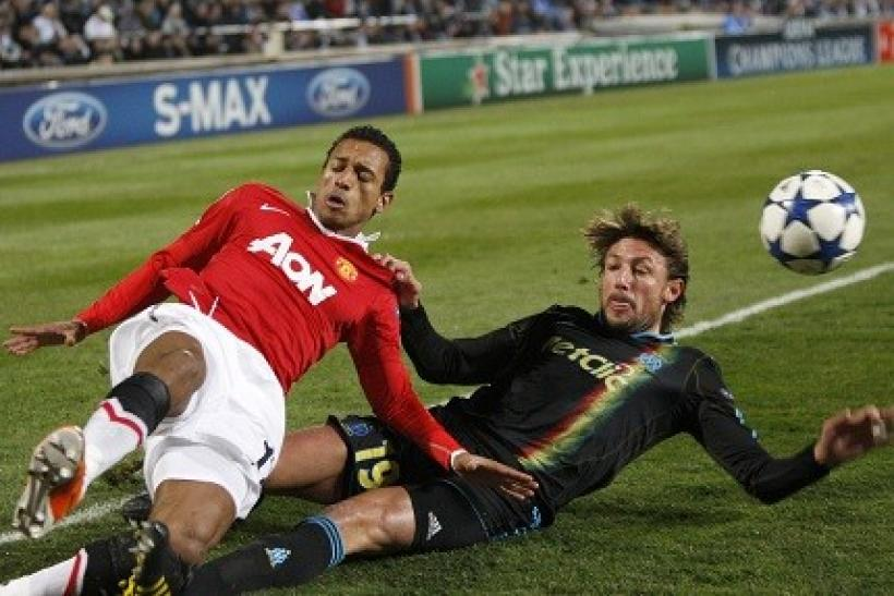 Nani is expected to be sidelined for roughly four weeks