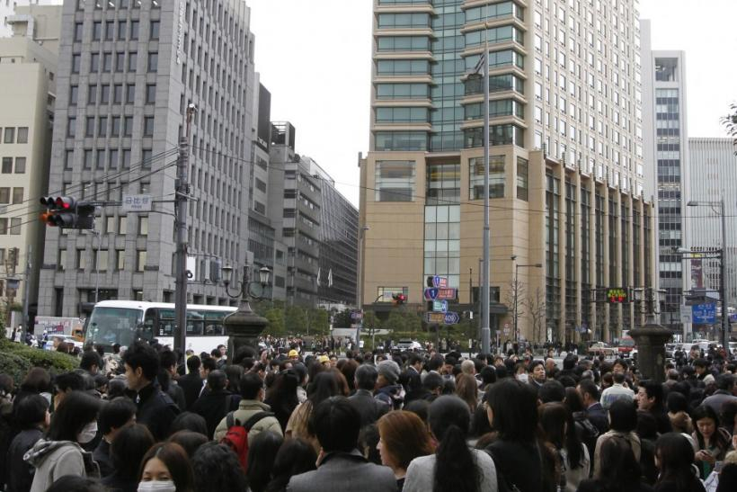 A 8.9 magnitude quake jolts Japan