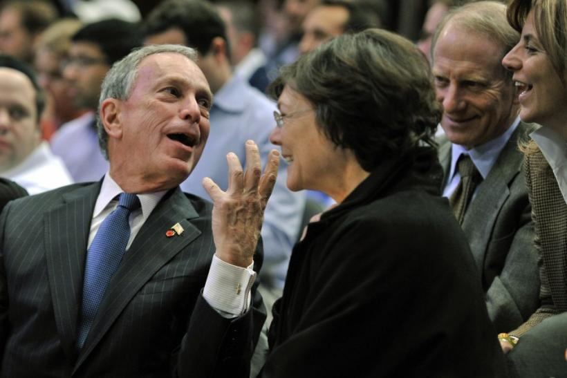 Michael Bloomberg, $18.1 billion, Bloomberg LP