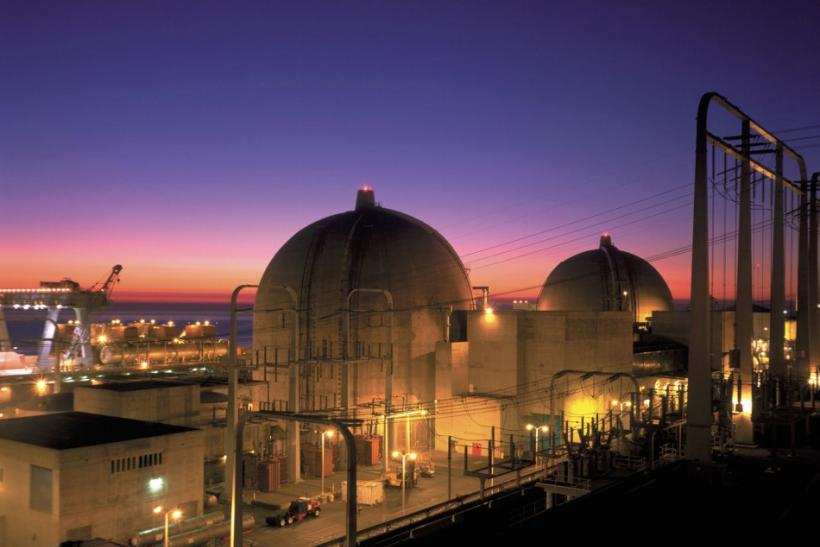 The San Onofre Nuclear Generating plant in north San Diego County, California