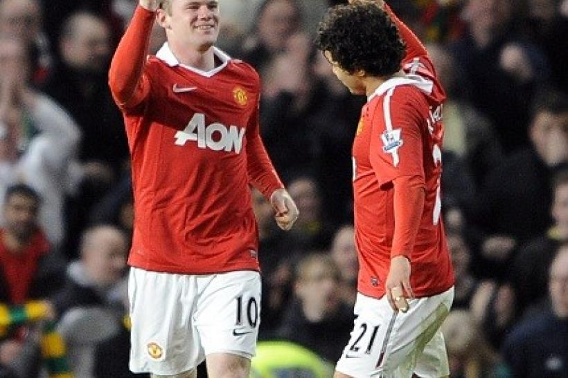 Wayne Rooney scored against Arsenal and will lead the United attack tonight