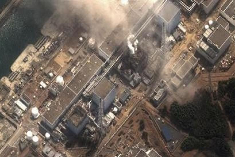 The No.3 nuclear reactor of the Fukushima Daiichi nuclear plant