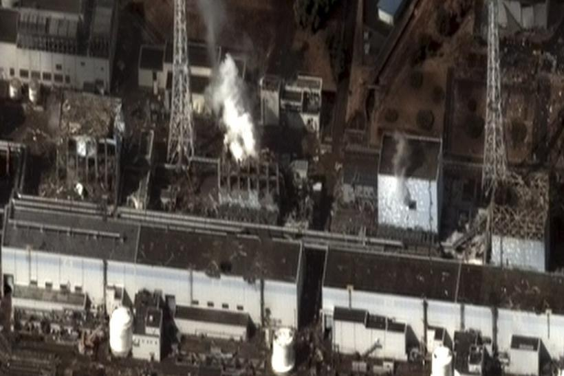 Damage after an earthquake and tsunami at Fukushima Daiichi nuclear plant, 240 km (150 miles) north of Tokyo, is seen in this satellite image taken 9:35 am local time (0035 GMT) on March 16, 2011