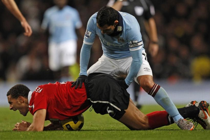 Ferdinand's injury lay-off comes as at a crucial time for Manchester United as they are in contention for the treble.