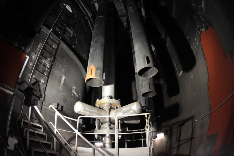 Innards of a nuclear reactor