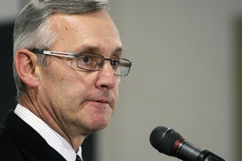 Jim Tressel imposed a suspension on himself