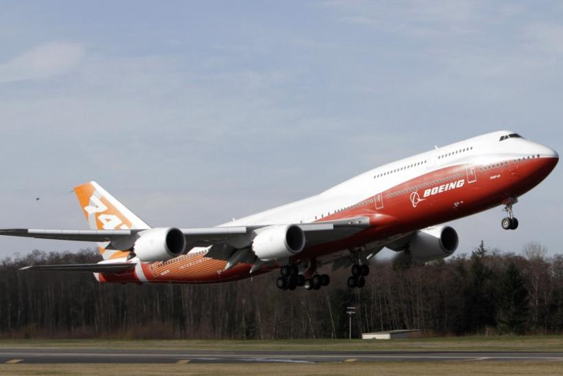 Boeing 747-8 first flight is a success