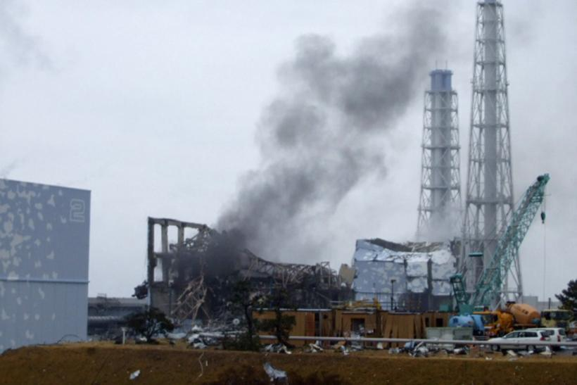 Fukushima nuclear plant after April 7 earthquake