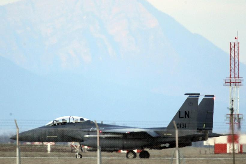 U.S. Air Force F-15E Strike Eagle fighter jet
