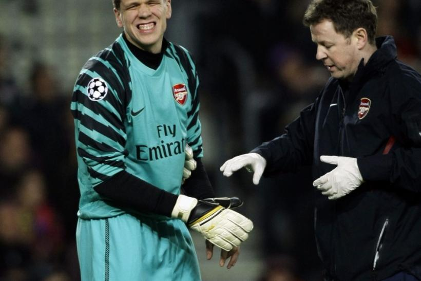 Szczesny is known for his wit and outspoken views.