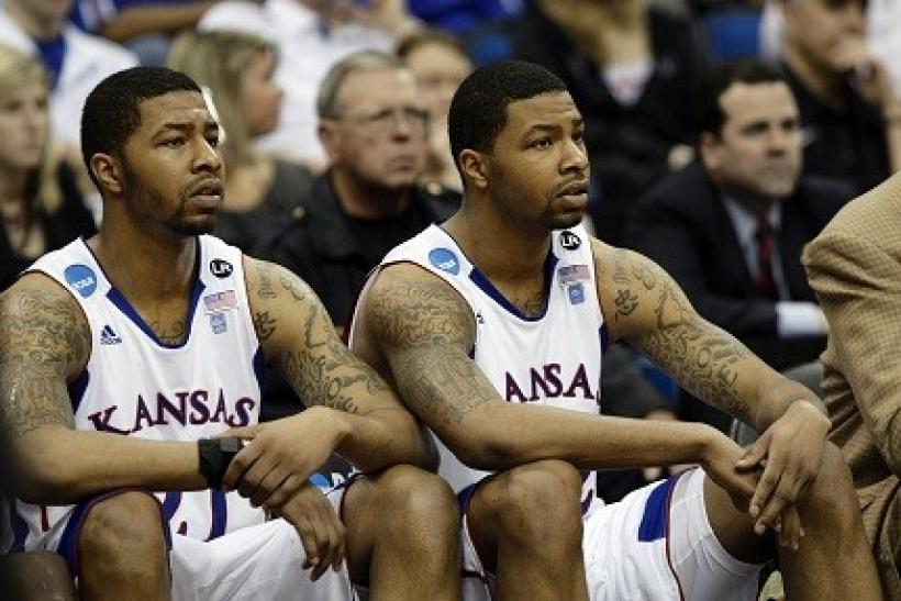 The Morris twins have been a force for Kansas