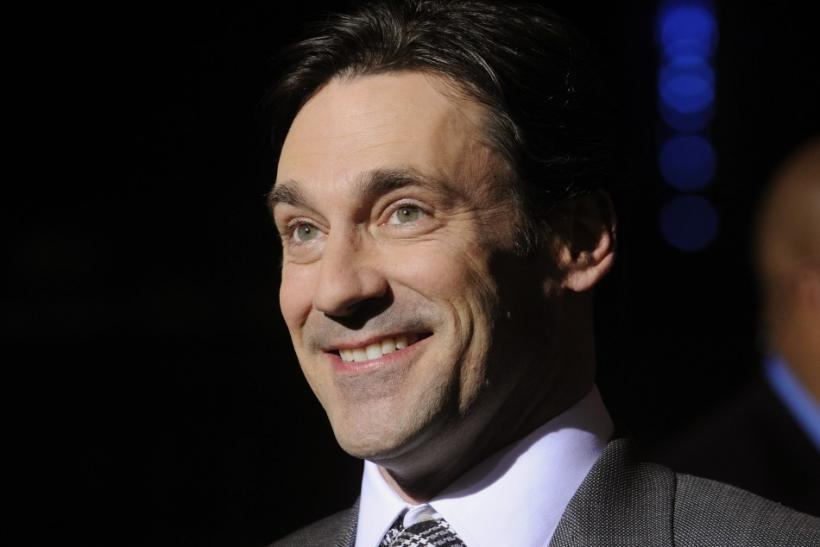 "John Hamm, actor on ""Mad Men"""