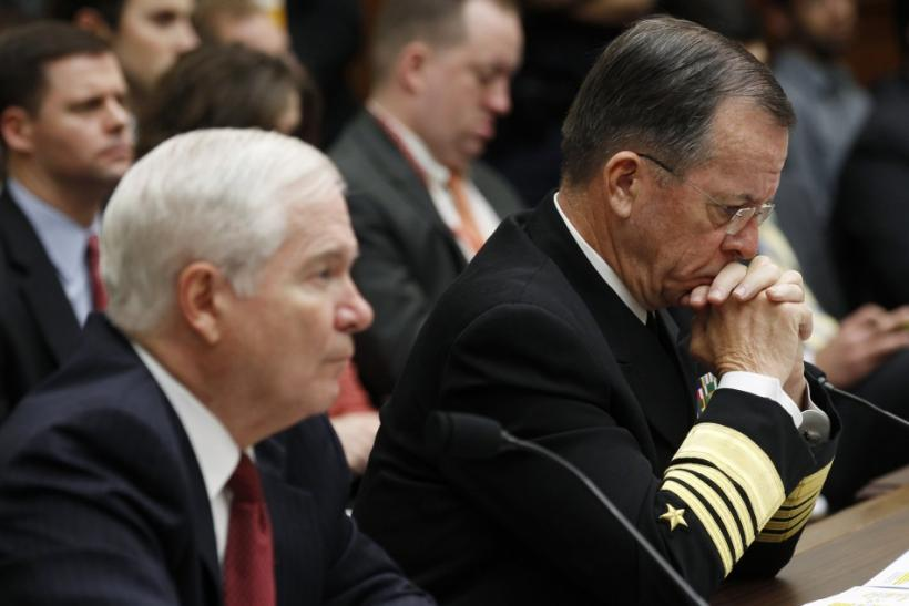Gates and Mullen testify on Libya in Washington